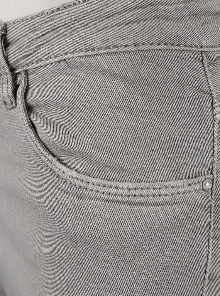 Šedé džíny s potrhaným efektem Madonna