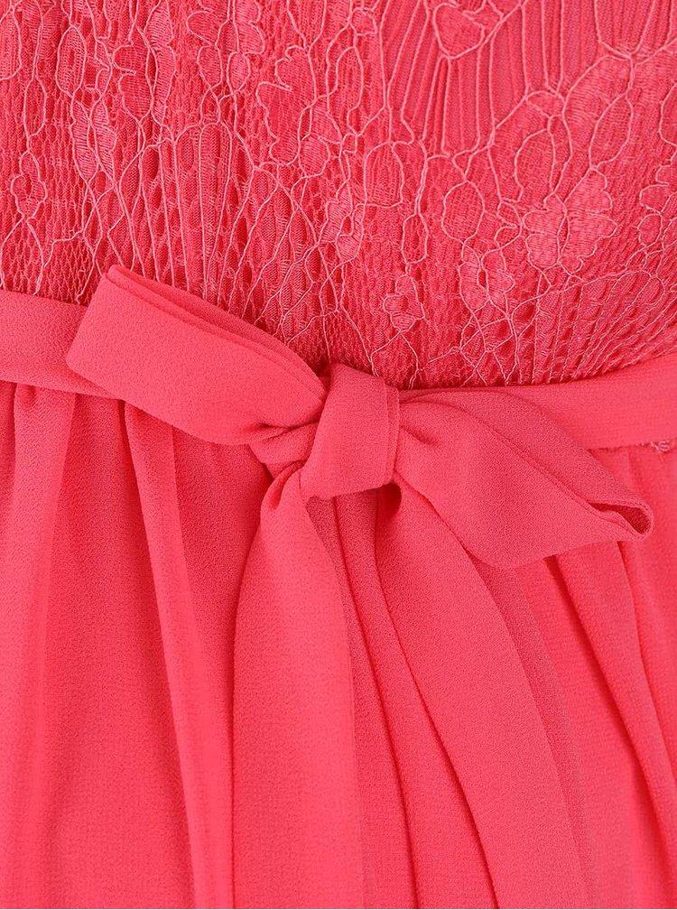Růžové těhotenské šaty Mama.licious Disa