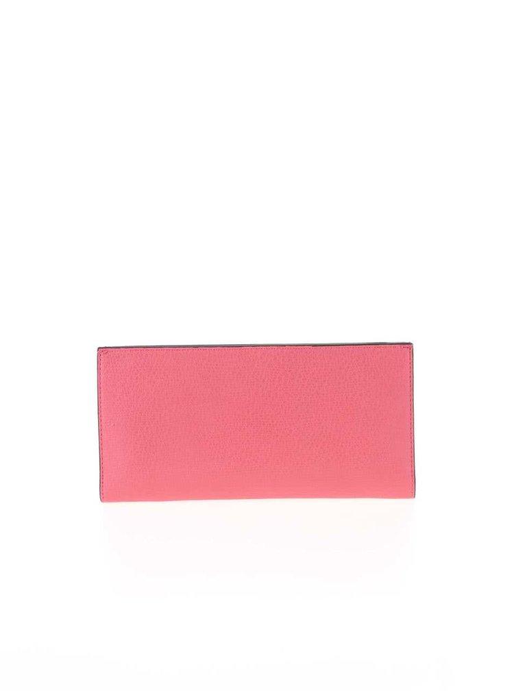 Růžové psaníčko s vyjímatelným vizitkářem Dune London Kandice