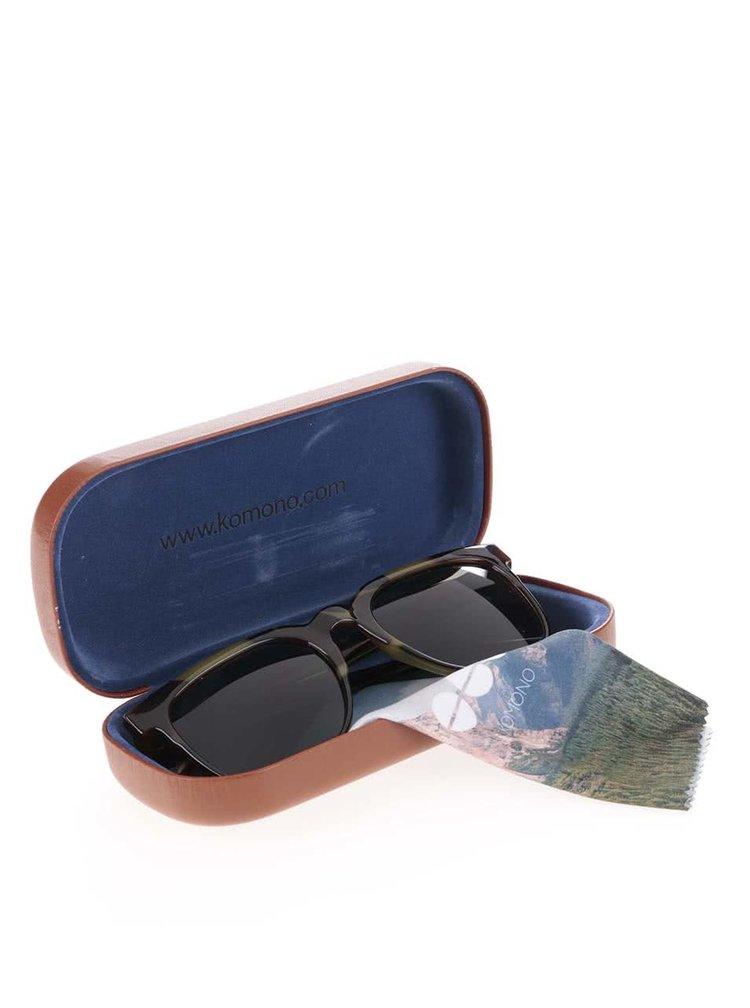 Ochelari de soare unisex Komono Riviera maro