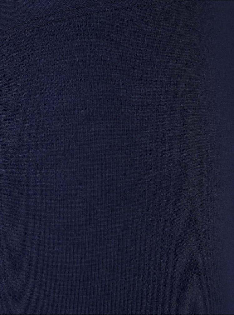 Tmavě modré legíny Dorothy Perkins Curve