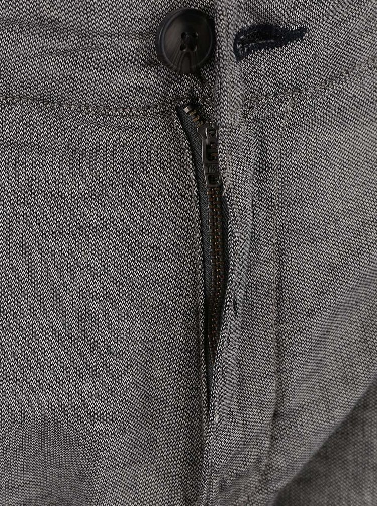 Šedé kalhoty Selected Homme Paris