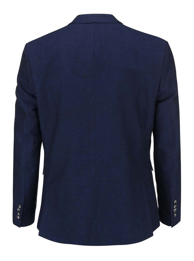 Sacou Selected Homme One albastru inchis