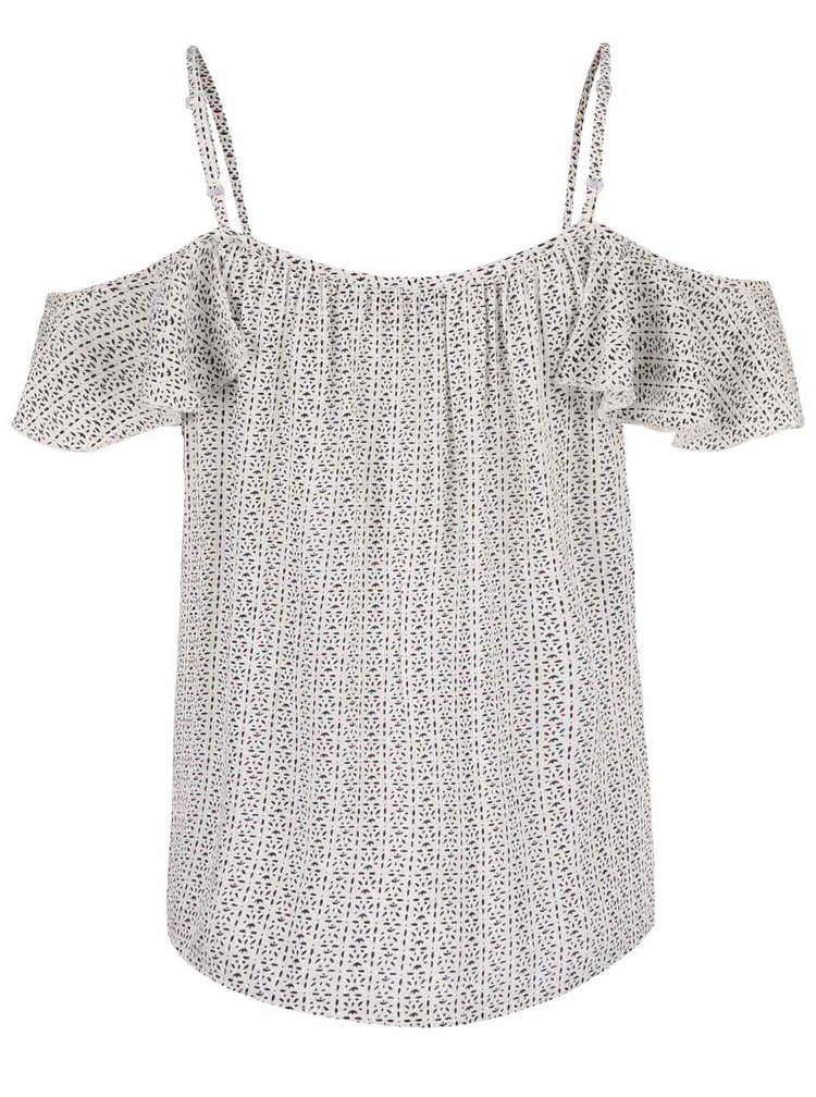 Top Dorothy Perkins Petite crem cu model