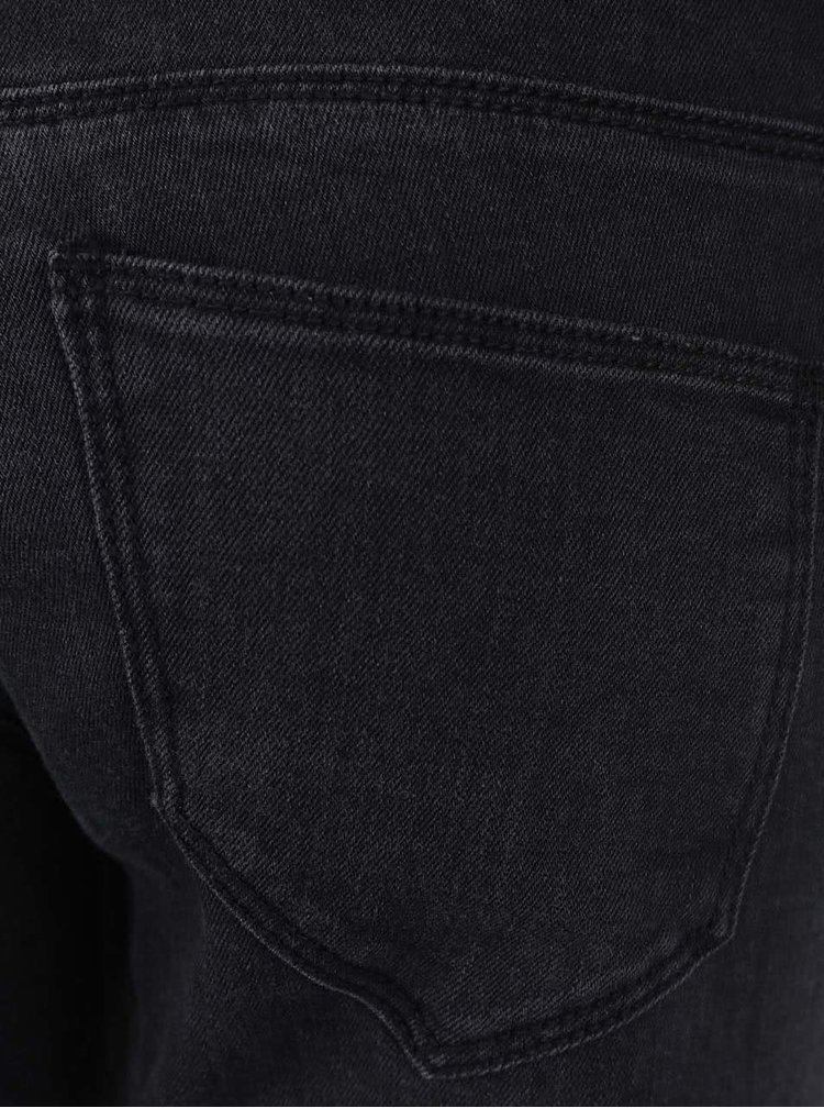 Tmavě šedé skinny džíny VERO MODA Five