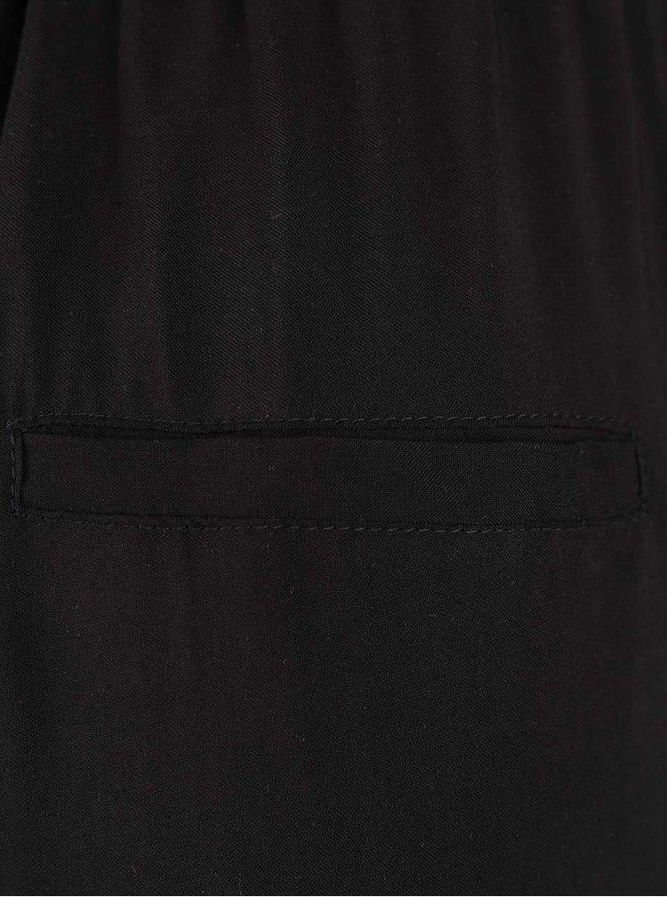 Černé kalhoty VERO MODA Super