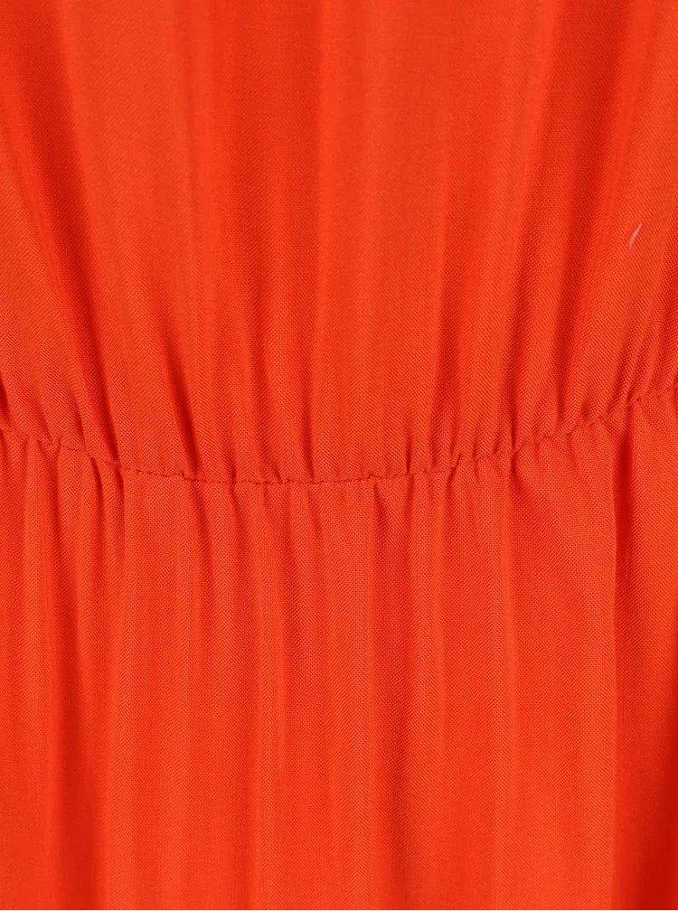 Rochie VERO MODA Super portocalie