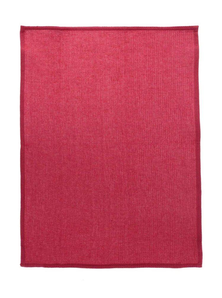 Sada tří utěrek v krémové a červené barvě s motivem slepic Cooksmart