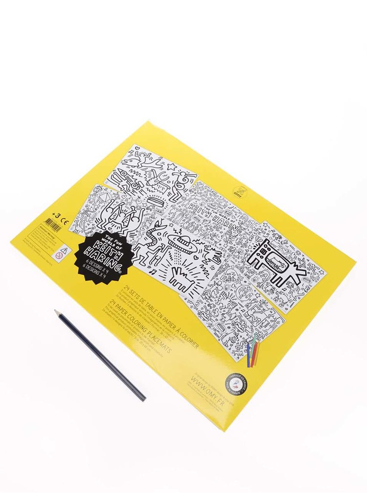 Prestieranie maľovanky Keith Haring OMY