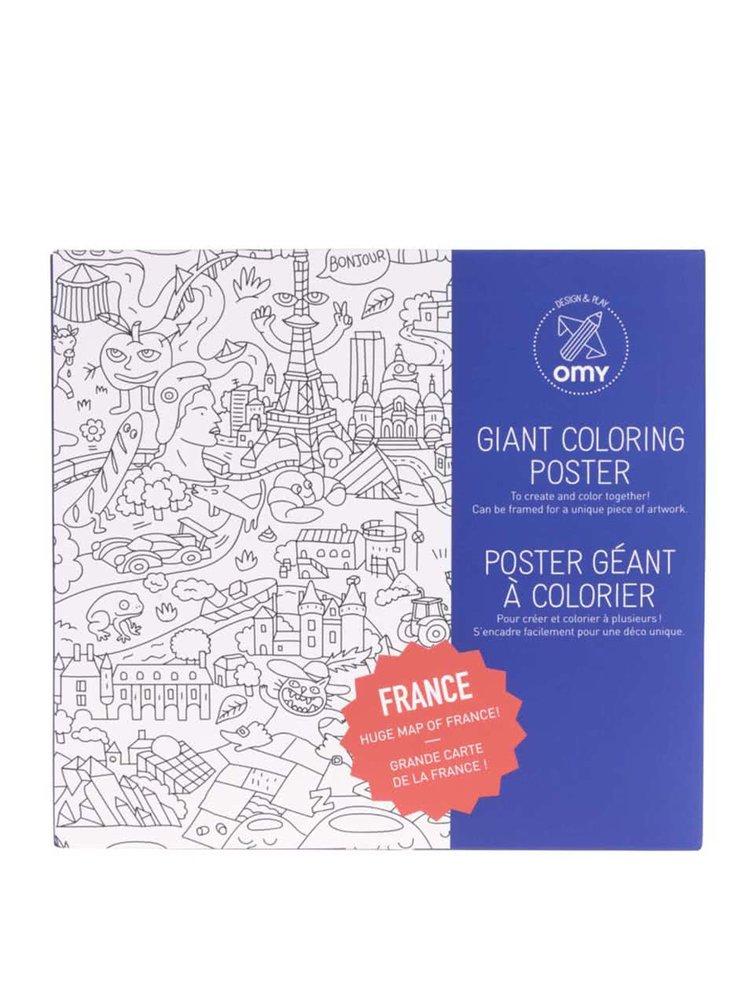 Velká omalovánka France OMY