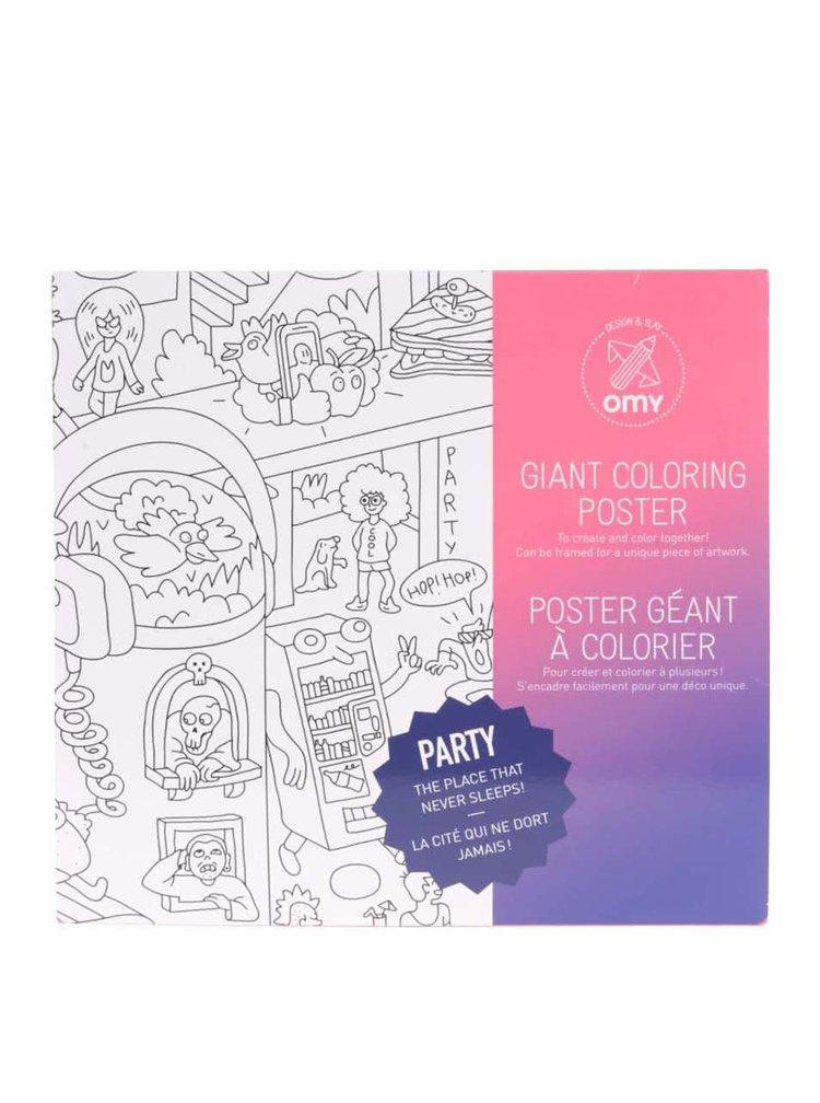 Veľká maľovanka OMY Party