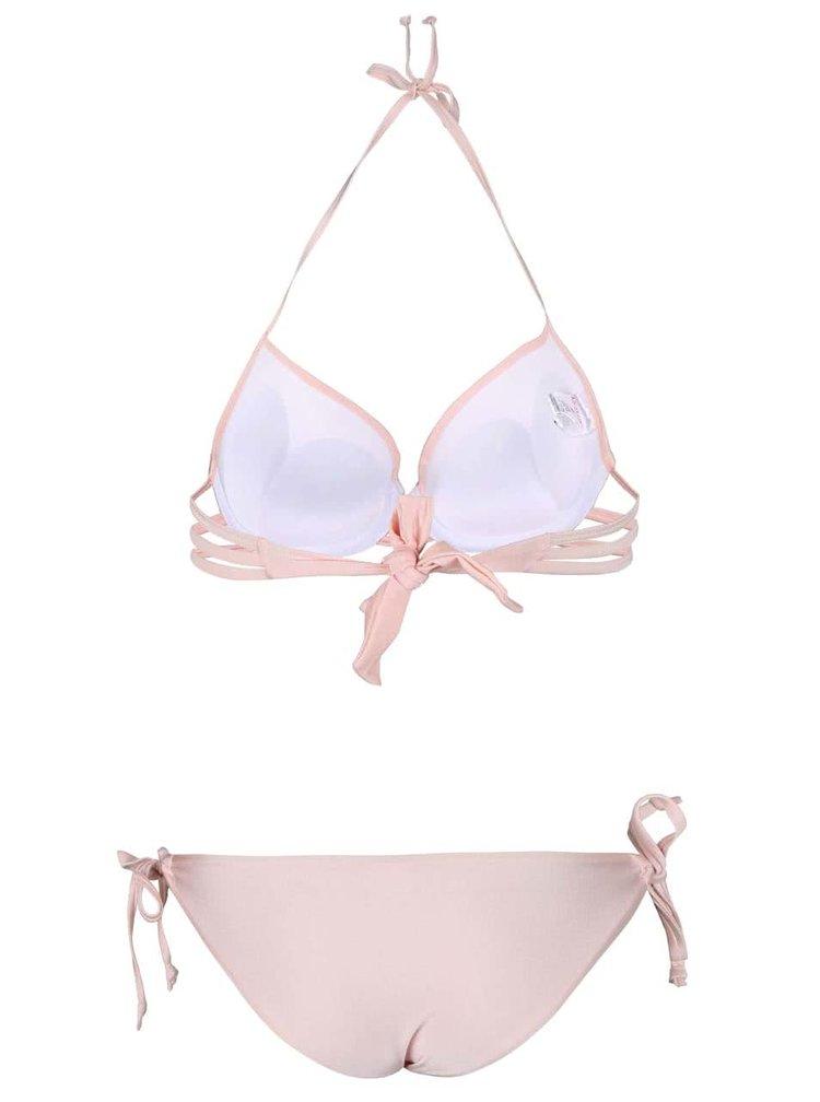 Costum de baie Relleciga roz