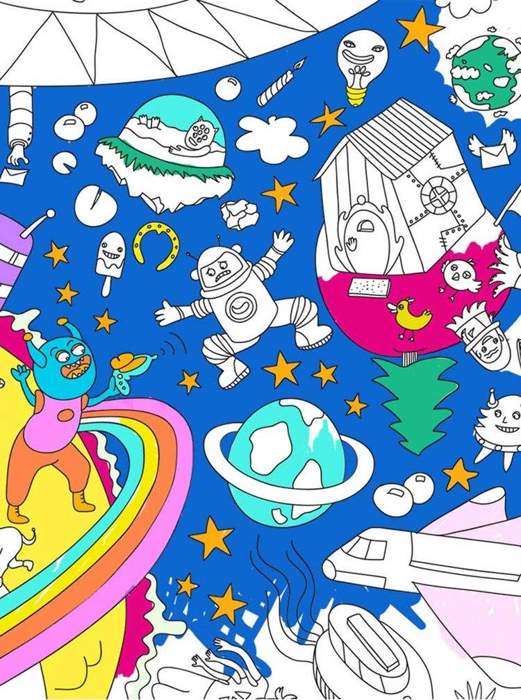 Veľká maľovanka OMY Cosmos