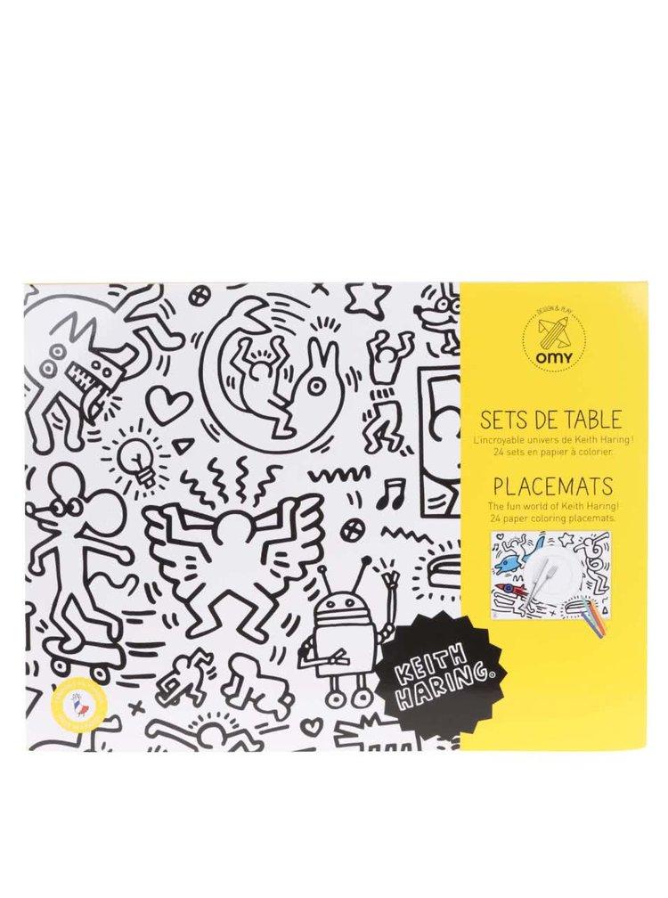 Omalovávací prostírání Keith Haring OMY