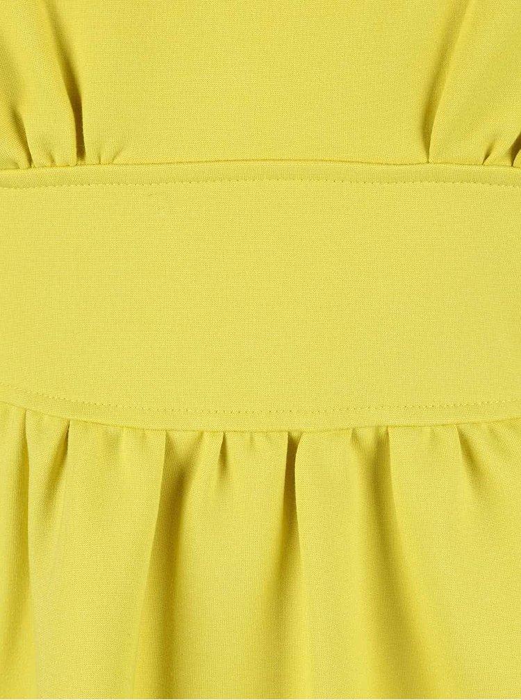 Rochie Closet galbenă