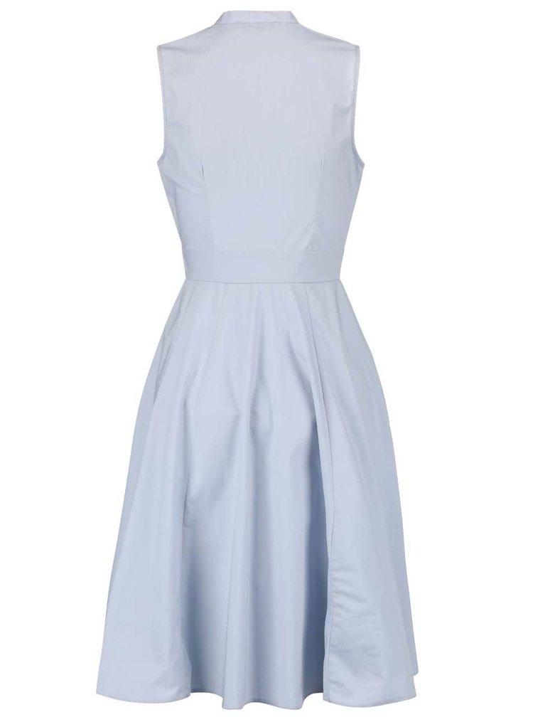 Rochie Closet gri cu albastru