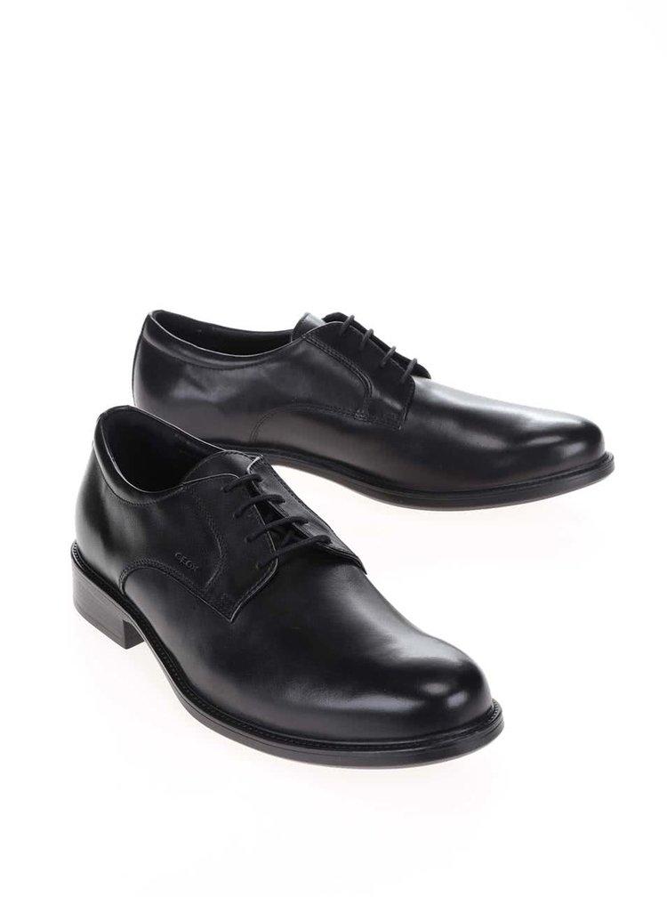 Pantofi negri Geox Carnaby pentru bărbați