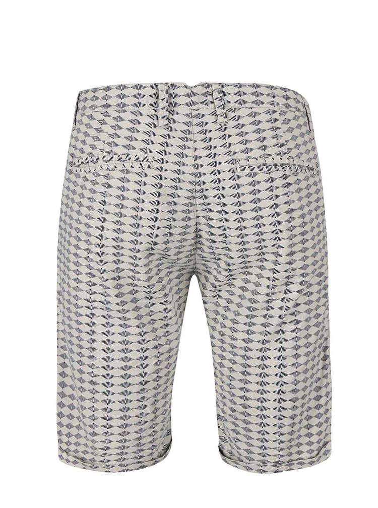 Pantaloni scurți Blend gri-bej
