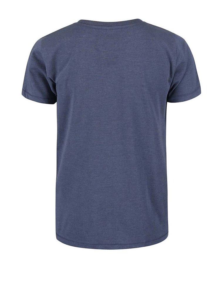 Tricou name it Istian albastru cu print