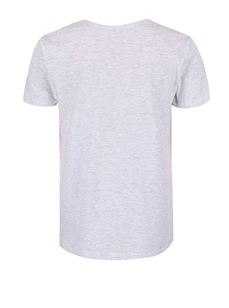 Šedé klučičí tričko s nápisem name it Vronny