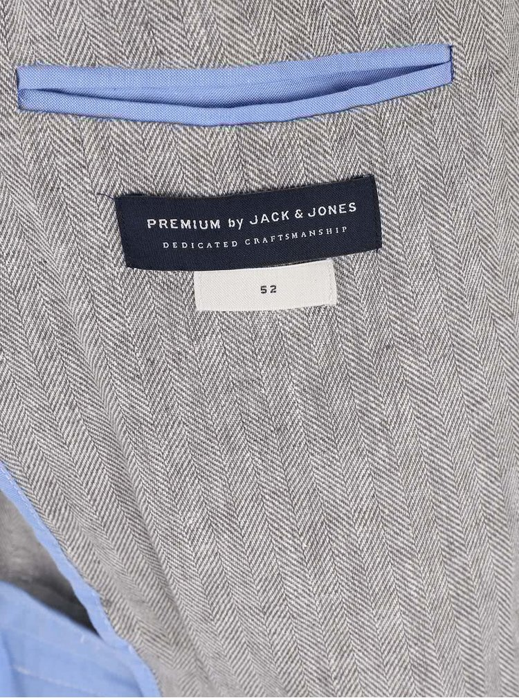 Světle šedé sako Jack & Jones Harry