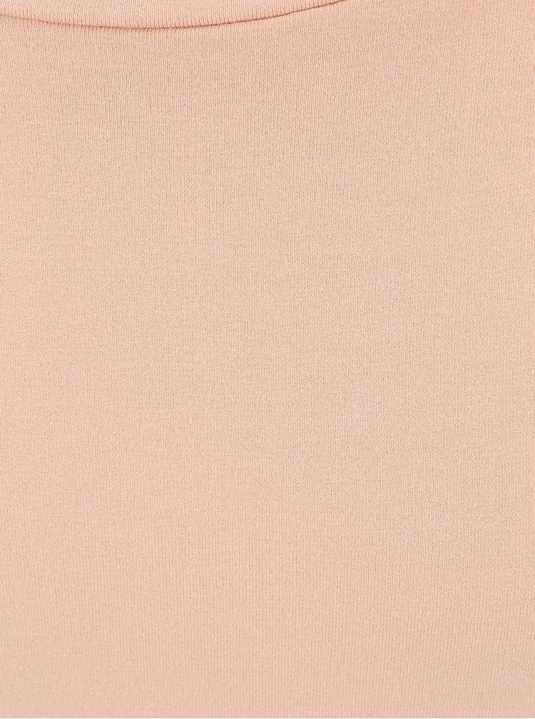 Tunică VILA Honesty portocalie