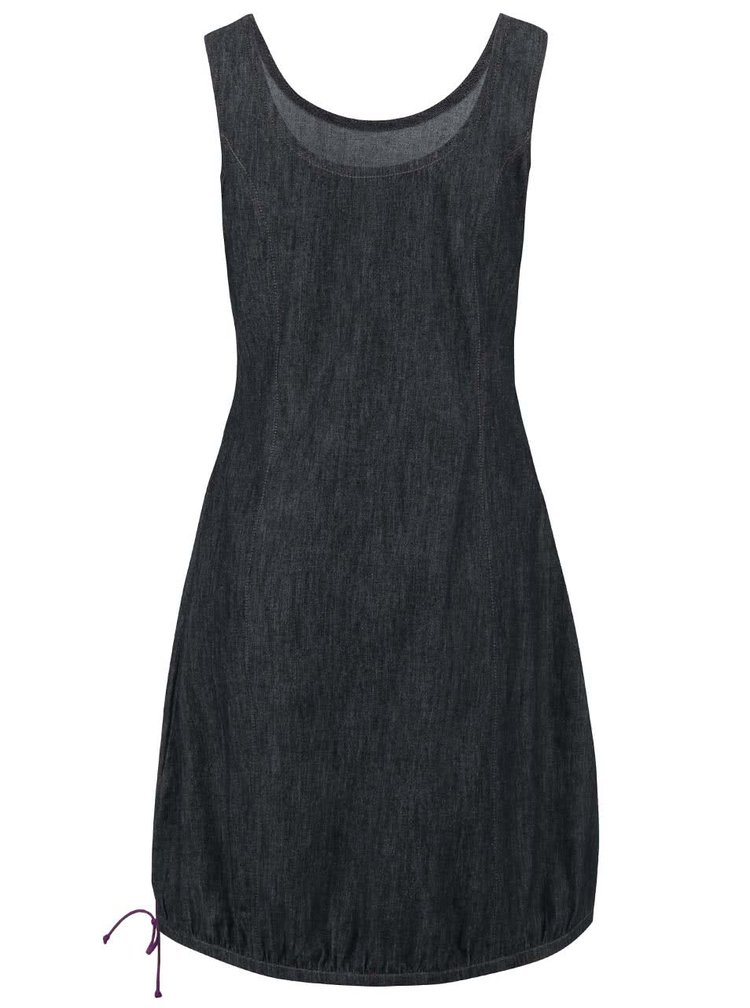Sivomodré šaty Tranquillo Kamala