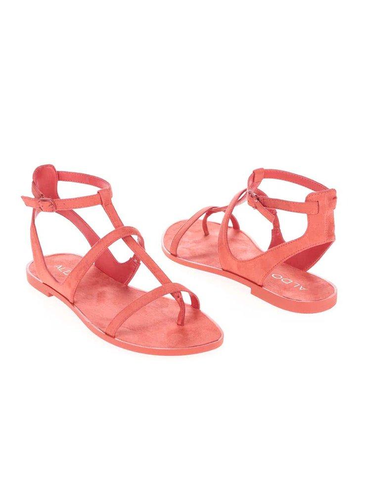 Páskové korálové sandály ALDO Tiphanie