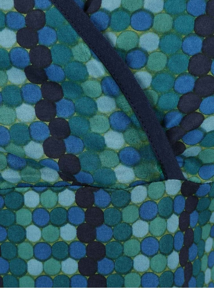 Rochie Tranquillo Mirinda albastră/verde