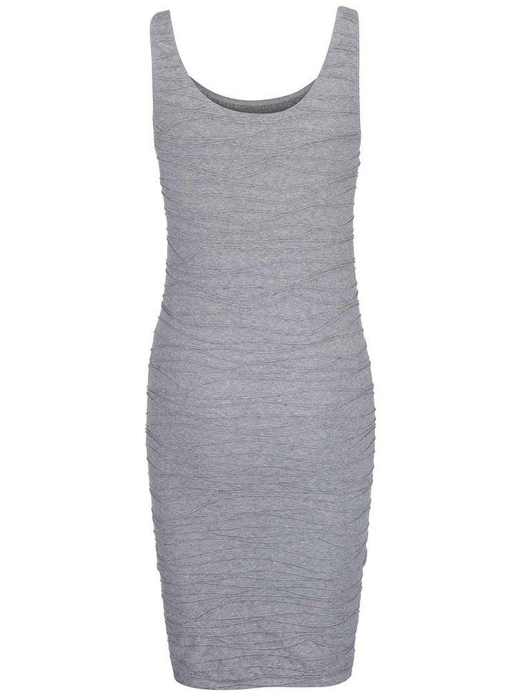 Šedé šaty VILA Ditri