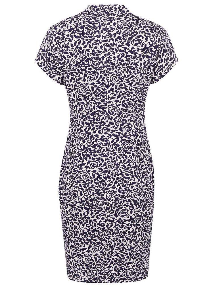 Modro-bílé šaty Fever London Betty