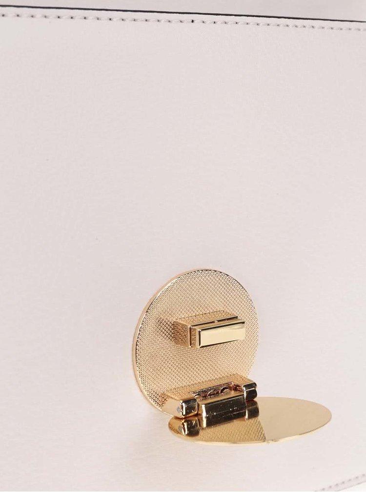 Biela kabelka s retiazkovým popruhom v zlatej farbe ALDO Pygmy