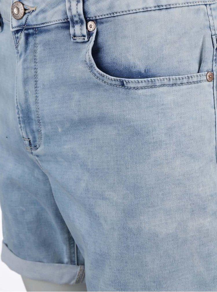 Blugi scurti ONLY & SONS Loom din denim albastri