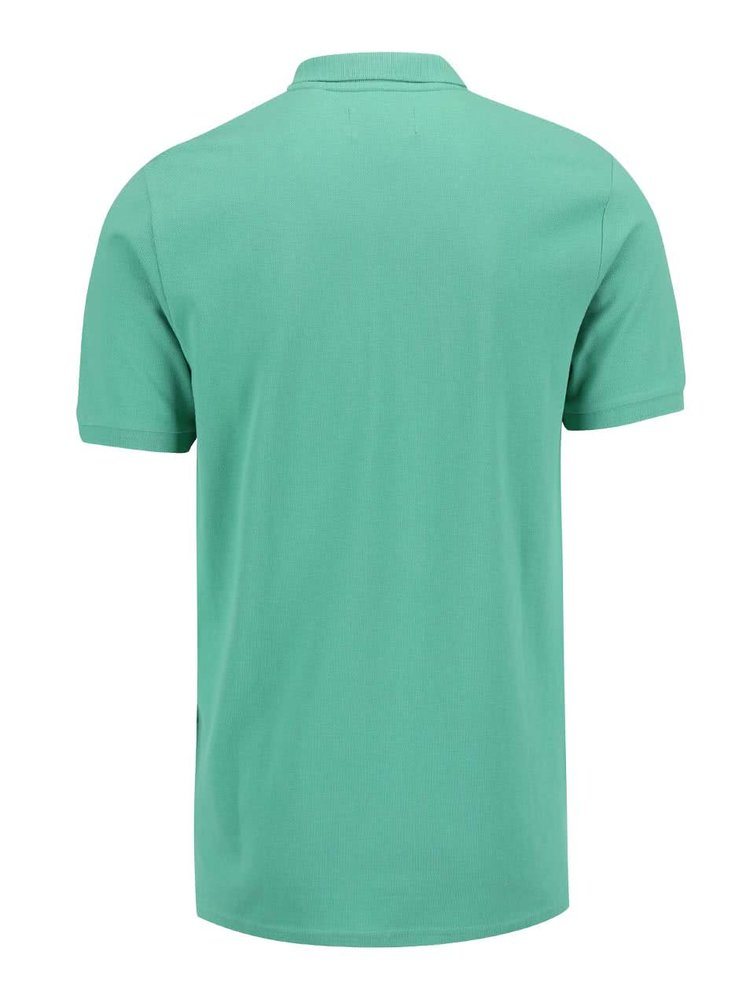Tricou Polo ONLY & SONS Pique verde
