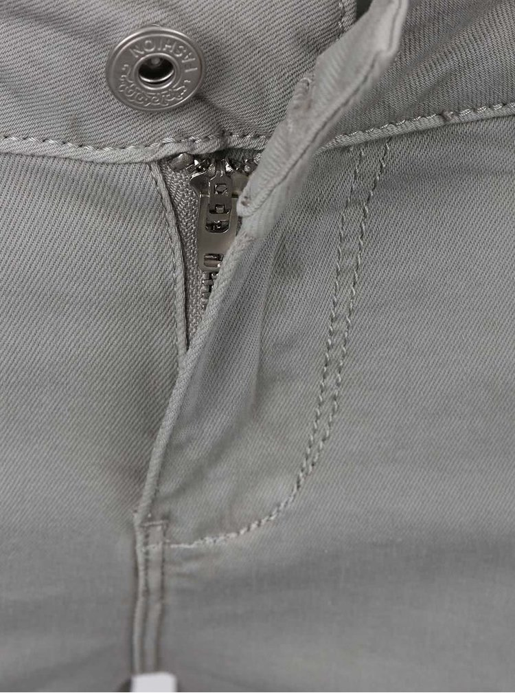 Šedé skinny džíny Madonna