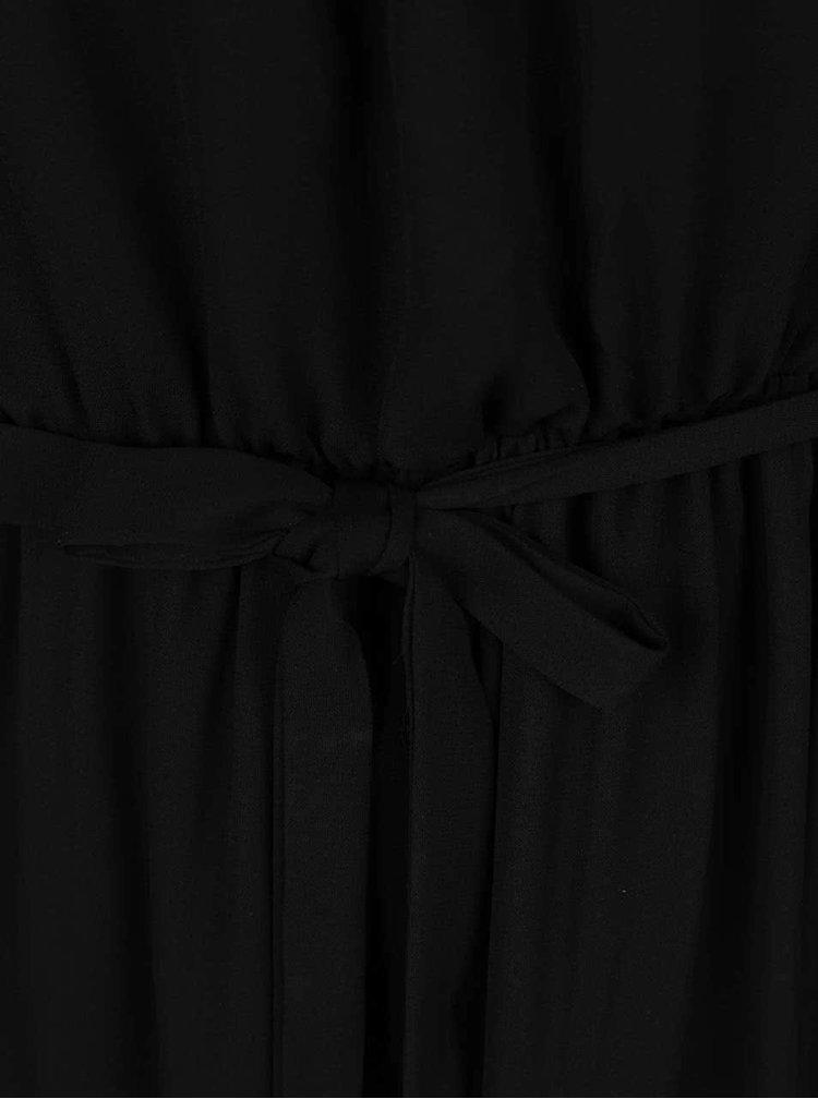 Rochie maxi Broadway Galaxie neagră