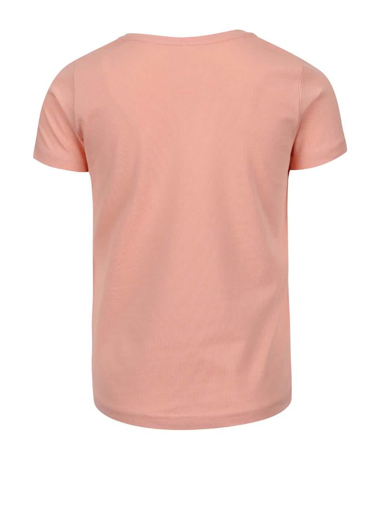 Růžové holčičí tričko s tukanem name it Tinea