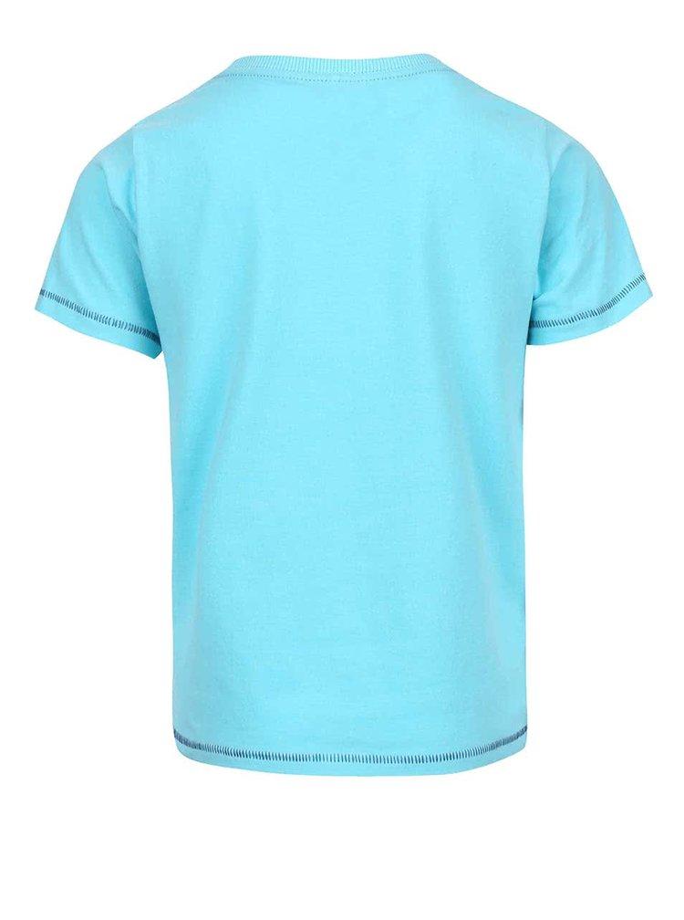 Tyrkysové klučičí tričko s kšiltovkami name it Ticap