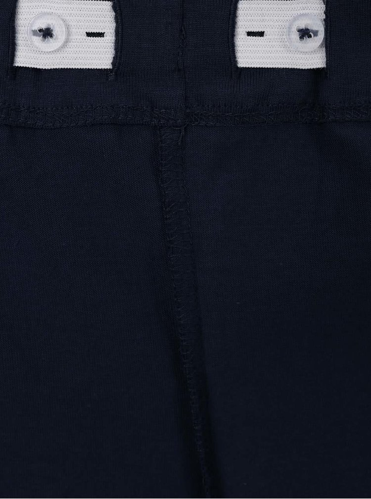 Tyrkysový klučičí set trička se šortkami name it Tilvo