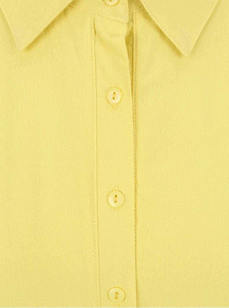 Rochie cu guler GINGER+SOUL galbenă