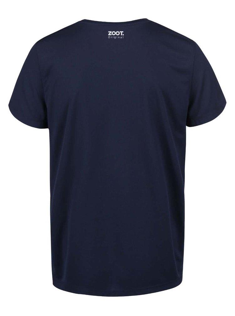 Tmavě modré pánské funkční triko ZOOT Originál Passion