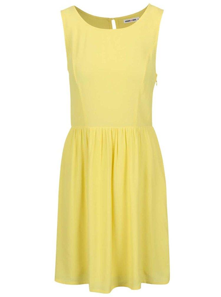 Žlté letné šaty GINGER+SOUL