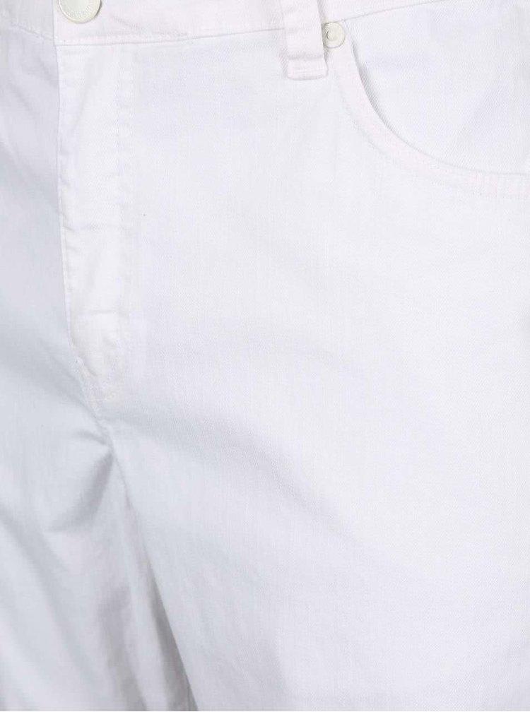 Bílé džínové kraťasy Shine Original Wayne Shorts