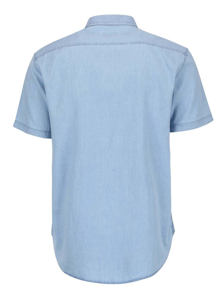Modrá denimová košile Shine Original Gibson Out