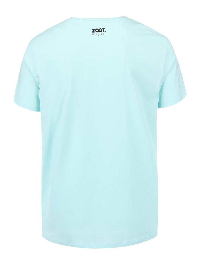 Světle modré pánské triko ZOOT Originál OK