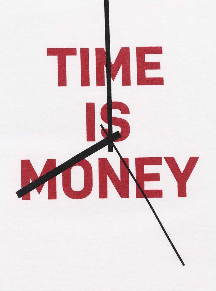 Bílé dámské tričko ZOOT Originál Time Is Money
