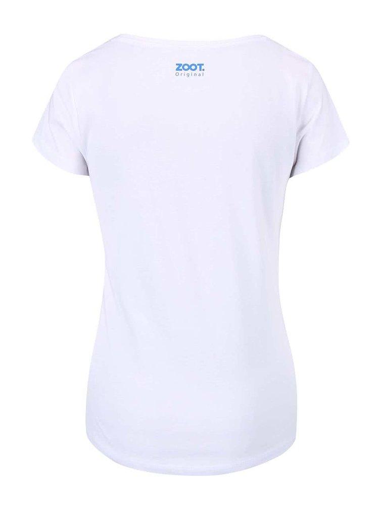 Bílé dámské tričko ZOOT Originál Wish Do