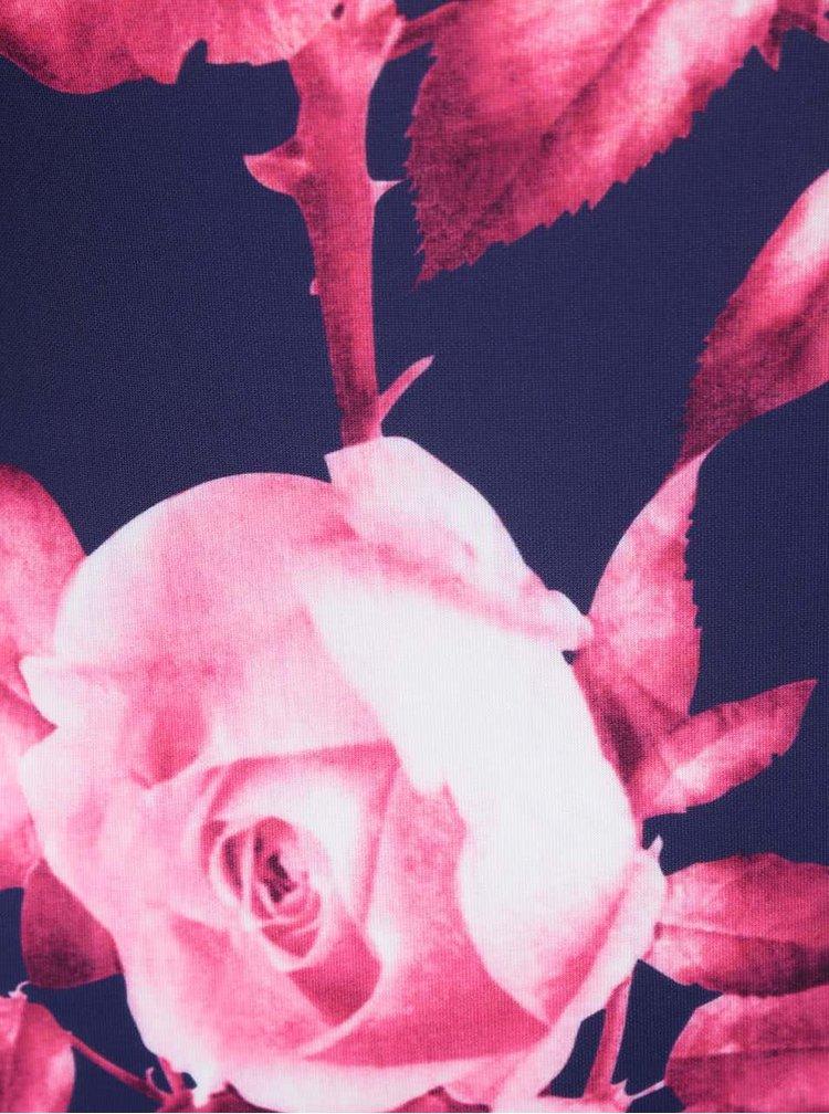 Rochie AX Paris albastră cu imprimeu