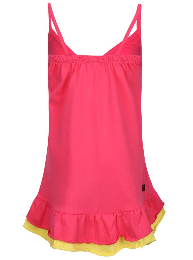 Růžové holčičí šaty na ramínka North Pole Kids