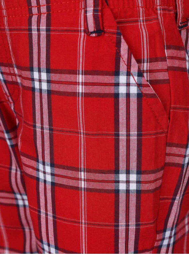 Set pantaloni scurti si tricou North Pole Kids albastru cu rosu